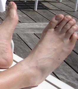 j'aime mes pieds